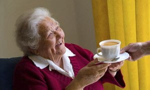 Daily care at home for the elderly